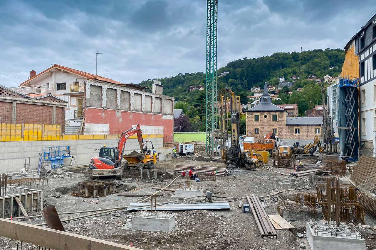 Edificación de Ikastola en Donostia San Sebastián